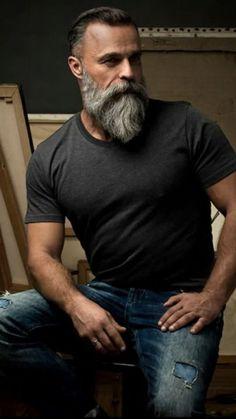 Moustache, Beard No Mustache, Beard Tips, Beard Rules, Grey Beards, Long Beards, Beard Styles For Men, Hair And Beard Styles, Hipster Haircuts For Men