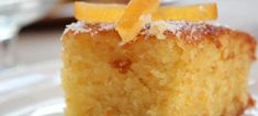 Αφράτη πορτοκαλόπιτα Moist Vanilla Cupcakes, Vanilla Cake, Creme Brulee, Greek Recipes, How To Make Cake, Cornbread, Sweets, Eat, Ethnic Recipes