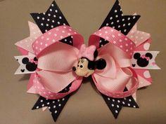 Minnie boutique hair bow