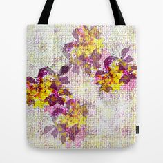 January flowers in Vitacura Tote Bag by Bethania Lima | Society6