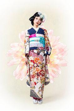 kimono hearts NEW ARRIVAL
