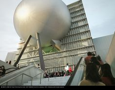 Taipei Performing Art Center - Arrival from underpass © OMA