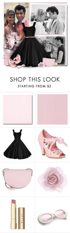 """""""Grease"""" by perla57 ❤ liked on Polyvore featuring WALL, Bettie Page, Coccinelle, Accessorize, Stila and Gucci"""