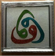 Cam altı boyama üçlü vav