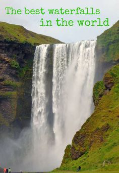 A sum up of the best waterfalls in the world!