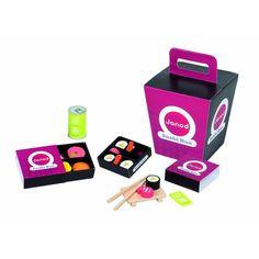 Wooden Toys: Sushi Box