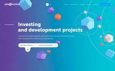 Web Universal Portfolio Website