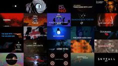 A retrospective celebrating 50 years of James Bond main titles, created to accommodate our feature article.  - www.artofthetitle.com/feature/james-bond-50-years-of-main-title-design  Website:…