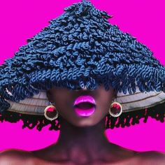 Happy Sunday!! #Repost from @africanprintsinfashion  Most stylish and stunning way to wear a lampshade  Model @akousalsera_official  Photo @thatphotokid  Hat @lolasurbanvintage . . #style #fashion #hats #pink #melanin #editorial #colorpop #accessories #fashionaccessories #fashionista #styleinspo #apif #apifrocks #photography #blackgirlmagic #blackmodels