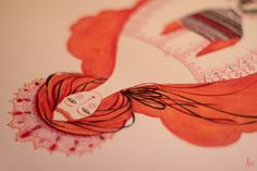 Rozalba by madalina andronic, via Behance