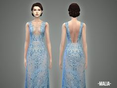 -April-'s Malia – gown | Sims 4 Updates -♦- Sims Finds & Sims Must Haves -♦- Free Sims Downloads