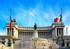 """National Monument to Victor Emmanuel II or """"Il Vittoriano"""""""