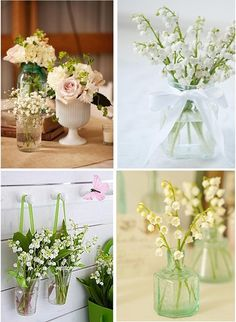 Lily-of-the-valley wedding inspiration
