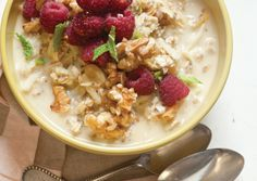 Chia Bircher Muesli   As simple as combining a few ingredients in a bowl and refrigerating overnight, Bircher muesli is the go-to choice for a nutritious, quick-and-delicious breakfast