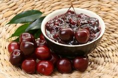 Cherry jam in a slow cooker for dessert With the help of smart device, you can cook a wonderful dessert that will delight a home during the long winter evenings. Ingredients:cherry 2 kg . Cherry Jam Recipes, Greek Recipes, Tolle Desserts, Greek Sweets, Greek Dishes, Good Foods To Eat, Unique Recipes, What To Cook
