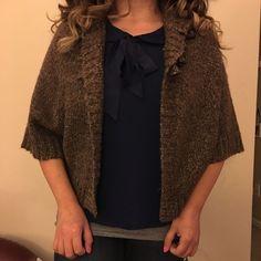 Cute shrug Sweater Grane Sweaters Shrugs & Ponchos