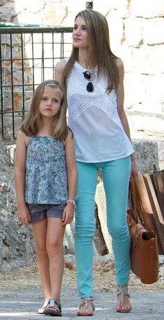 Los looks veraniegos de la princesa Letizia (I)