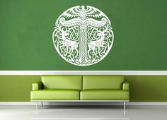 Yggdrasil - Norse Mythology - Celtic Knot - Wall Decal - No 1
