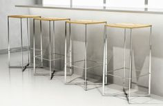 Solitaire Bar Stools
