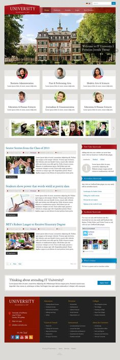 IT University 2 - Responsive Joomla Template for Education Websites