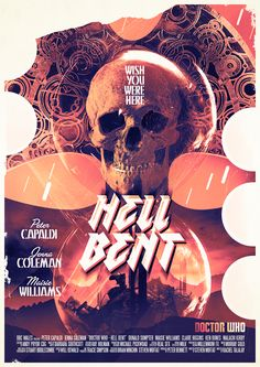 All sizes | Doctor Who Hell Bent Poster | Flickr - Photo Sharing!