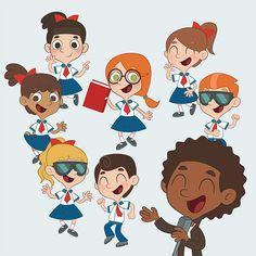 Como lançar seu livro infantil #character #kids #illustration #draw #color #digital #vector #editorial #children #school