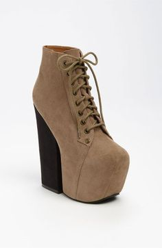 Jeffrey Campbell 'Freda' Bootie available at Nordstrom:this baby has a 6.5 inch heel! I would be 6'3