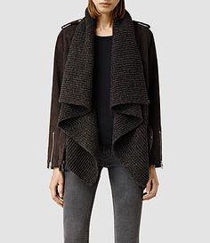 AllSAINTS: Lederjacken Damen - Investments für die Garderobe