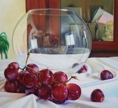 grape oil painting ruddy 15 Photo Realistic Oil Paintings by Ruddy Taveras http://myartmagazine.com/photo-realistic-oil-paintings-ruddy-taveras