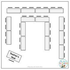 Seating plan classroom desk arrangements Ideas for 2019 Seating Chart Classroom, Classroom Layout, Classroom Organisation, 2nd Grade Classroom, Classroom Setting, Classroom Design, Science Classroom, School Classroom, Classroom Management