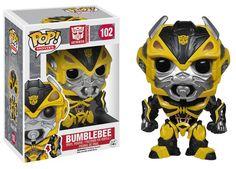 Cabezón Bumblebee 10 cm. Línea POP! Movies. Transformers. Funko Estupendo cabezón de Bumblebee de 10 cm perteneciente a la línea POP! Movies, fabricado en material de vinilo y por supuesto 100% oficial y licenciado. Ideal para regalar.