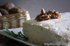 rezetas de carmen: Pastel de queso con nueces