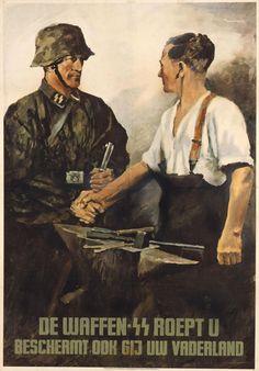Exponat: Plakat: Waffen-SS, 1942