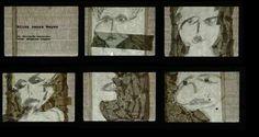 Alina senza Reyes, fotograma, paper, Fernanda Menendez