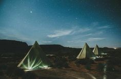 Go glamping with your girls and guys in  Moab, Utah. Sleep in tipis or tents. Photo: Studio Castillero