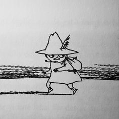 Snufkin from The Moomin books. Don't know if i will do the black and white of colored? Moomin Tattoo, Moomin Books, Moomin Valley, Drawing Now, Small Tats, Tove Jansson, Get A Tattoo, Book Illustration, Tattoo Inspiration