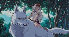 Hayao Miyazaki, Studio S, Film Stills, Princess, Anime, Princess Mononoke, Studio Ghibli, Backgrounds, Cartoon Movies