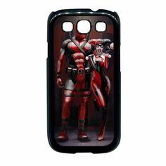 Harley Quinn And Deadpool Samsung Galaxy S3 Case