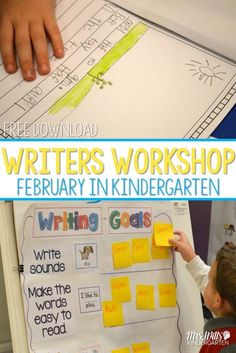 Looking for ideas to help your students improve their writing skills? Check out these kindergarten writing workshop resources! Here is a glimpse at writing in February.