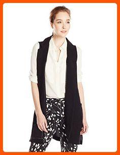 Glamorous Women's Sleeveless Blazer Vest, Black, Small - All about women (*Amazon Partner-Link)