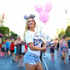 AlishaMarie: lowkey bought a $12 balloon for this pic...was it worth it?! I just want feed goals ok hahaha ♡; Disney's Magic Kingdom