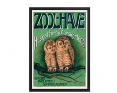 Zoo ugler #plakatgalleridk