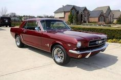 64 1/2 Mustang! My husband's newest project will be arriving today!  Can't wait fkr it to be completed