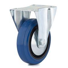 Richelieu F08337 Industrial Blue Elastic Rubber Caster