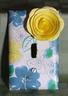 Decorative Light Switch Plate Light Cover by TheCreativeSideofBS
