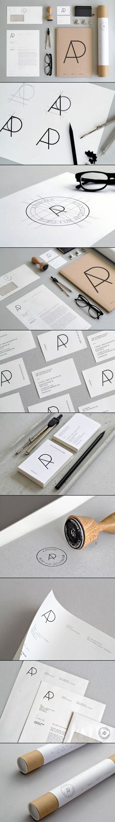 Font  Simplicity  Circular logo  LOVE corporate identity package and how it is put together