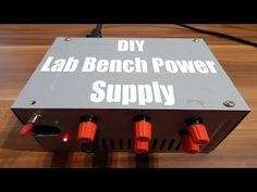 Encyclopedia of ATX to Bench Power Supply Conversion - Instructables Battery Charger Circuit, Automatic Battery Charger, Diy Electronics, Electronics Projects, Power Supply Circuit, Electronic Circuit Projects, Electronic Schematics, Circuit Design, Audio Amplifier