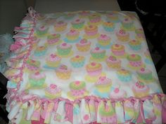 tied fleece blanket-different way to tie