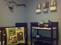 Monkey theme nursery