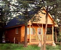 Attrayant Exterior Photo Of Lake Loft Cabin At Mackinaw Mill Creek Camping